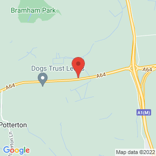 Paintball Leeds Location Map